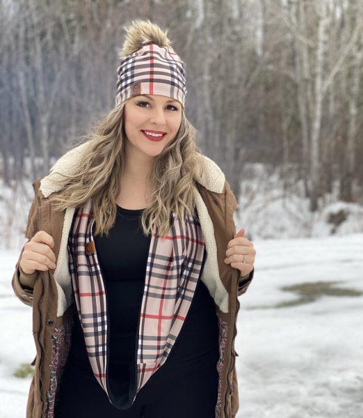 Foulards infinis d'hiver