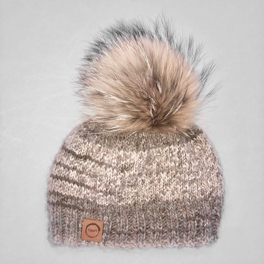 Knitted toque - Brown – MataM Design 352871072a8